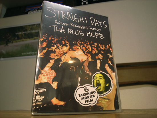 THA BLUE HERB DVD 「STRAIGHT DAYS」Autumn Brightness Tour '08