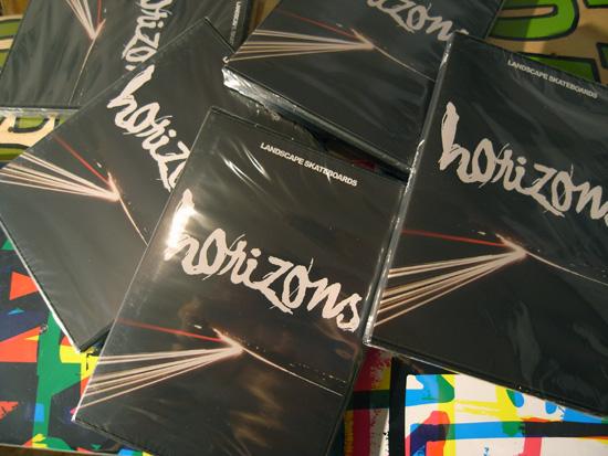 LANDSCAPE 新作DVD「HORIZONS」