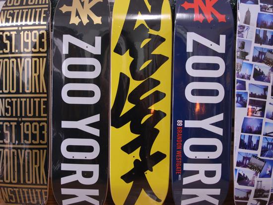 ZOOYORK(ズーヨーク) 新作デッキ入荷!!