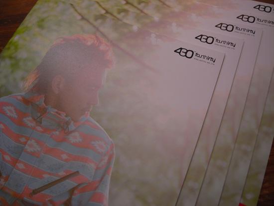 430(フォーサーティー)2010秋冬カタログ入荷!!