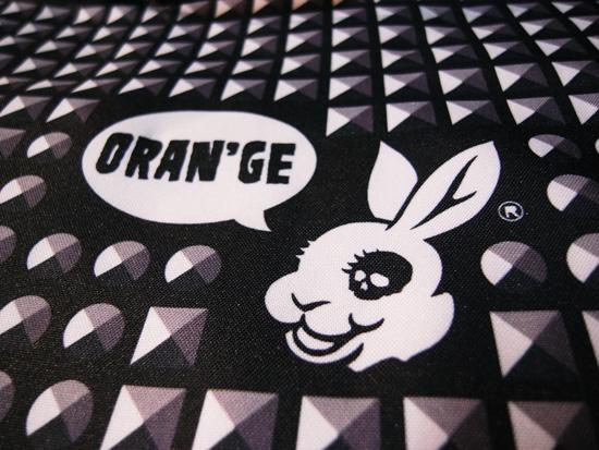 ORAN'GE(オレンジ)スノーギア MADBUNNYデザイン!!