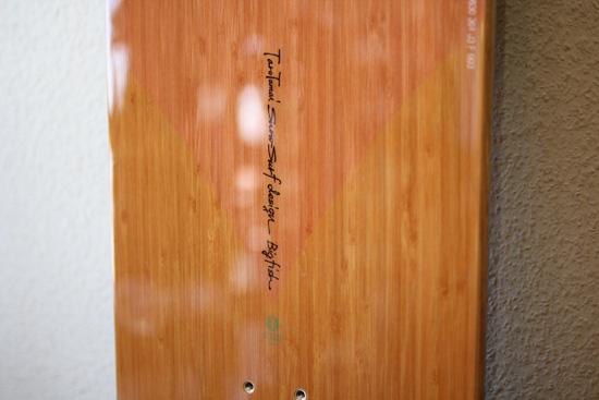 Taro Tamai SnowSurf Design Bigfish