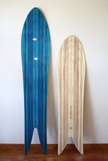 Taro Tamai SnowSurf Design Rocketfish Outlinecore
