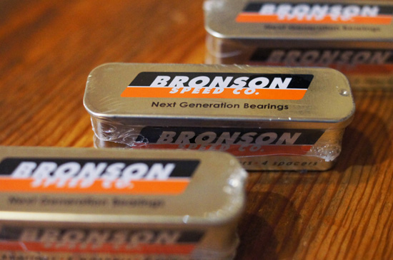 bronson speed co. bearings
