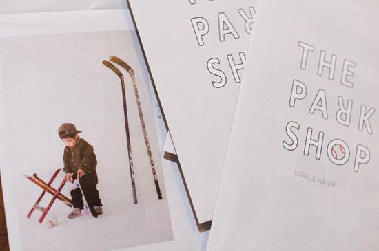 メンズキッズブランド『THE PARK SHOP』