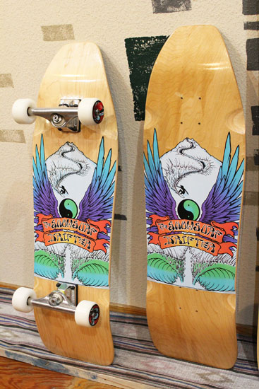 THE SNOW SURF by GENTEMSTICK DRIFTER SKATEBOARD DECK