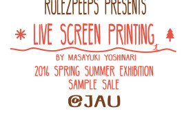 RULEZPEEPS presents @JAU