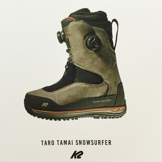 K2 TAROTAMAI SNOWSURFER BOOTS発表&試着