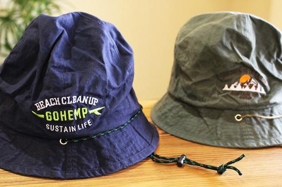 GOHEMP 新作HAT