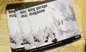 king garage magazine vol.2入荷