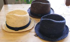 GOHEMP RAFFIA CLASSIC HAT HERRINGBONE