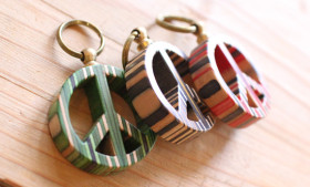 CORE PEACE KEY RING