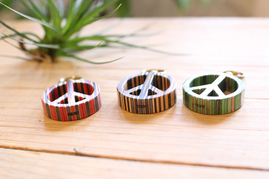 CORE PEACE RING キーホルダー