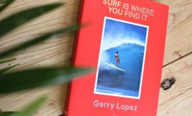 ジェリー・ロペス『Surf Is Where You Find It』書籍