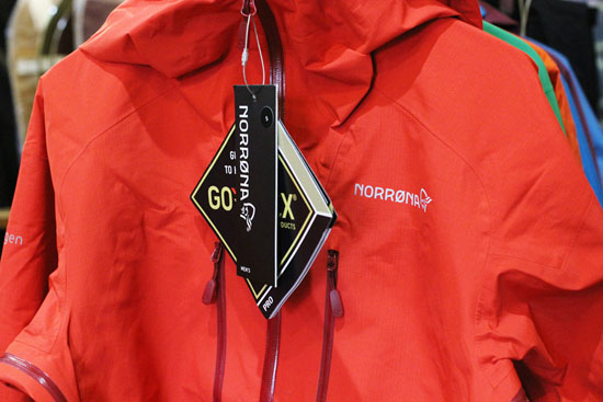 NORRONA (ノローナ) 16-17 TROLLVEGGEN GORE-TEX LIGHT PRO JACKET