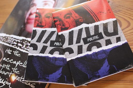 POLITIC 新作DVD+DECK入荷