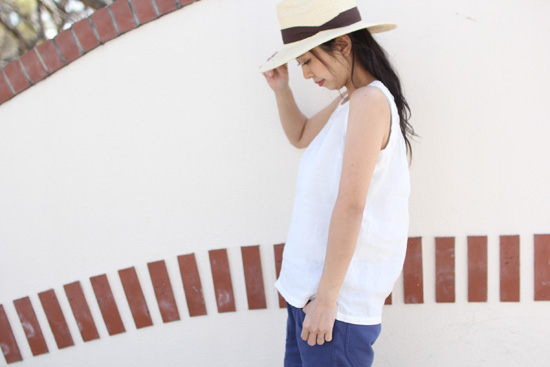 RULEZPEEPS (ルールズピープス)  BAMBOO WOMEN'S SLEEVELESS TOPS