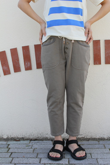 RULEZPEEPS (ルールズピープス)  ORGANIC COTTON INLAY pants