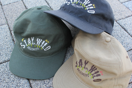 RULEZPEEPS (ルールズピープス)  ORGANIC COTTON STAY WILD CAP