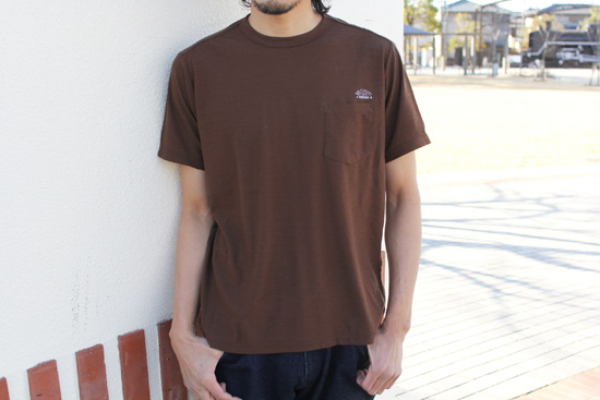 RULEZPEEPS (ルールズピープス)  SMILE WOOL POCKET TEE