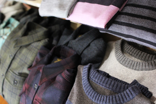 greenclothing (グリーンクロージング) ネルシャツ セーター