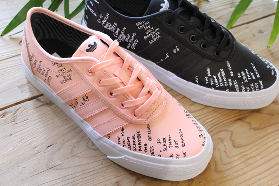 ADIDAS SKATEBOARDING × MARK GONZALES新色ピンク