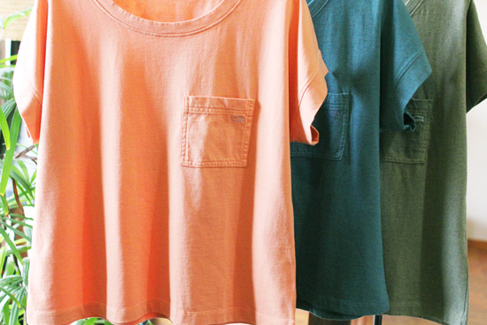 GENTEMSTICK (ゲンテンスティック) × Se. WOMEN'S FISH POCKET TEE