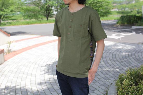 GOHEMPトライバルシャツ