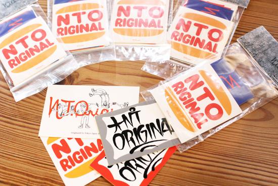 N.T.ORIGINAL ステッカーパック