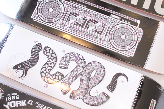 5BORO (ファイブボロ) デッキ  5B × DF ART SERIES