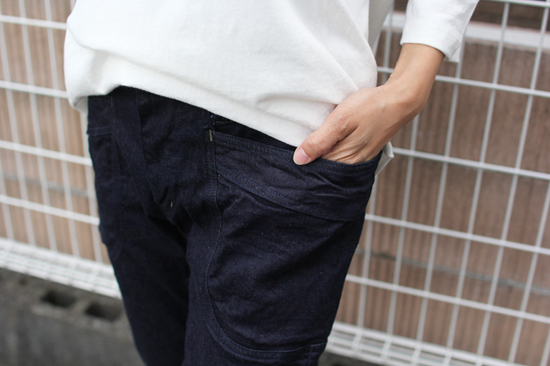 GOHEMP (ゴーヘンプ)  LADY'S VENDOR TAPERED SLIM PANTS