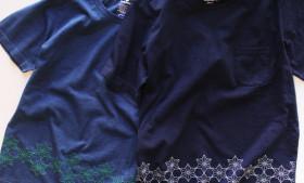 GOHEMP 麻柄刺繍 Tシャツ