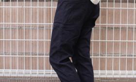GOHEMPレディース VENDOR TAPERED SLIM PANTS