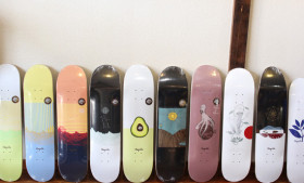 """MAGENTA SKATEBOARDS"" SUMMERデッキ"
