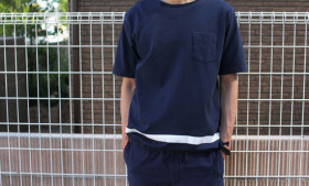 PIG&ROOSTER DA LINE ポケットTEE