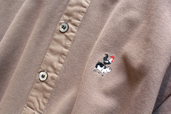 PIG&ROOSTER (ピッグアンドルースター) LUANA HENLEY NECK POLO