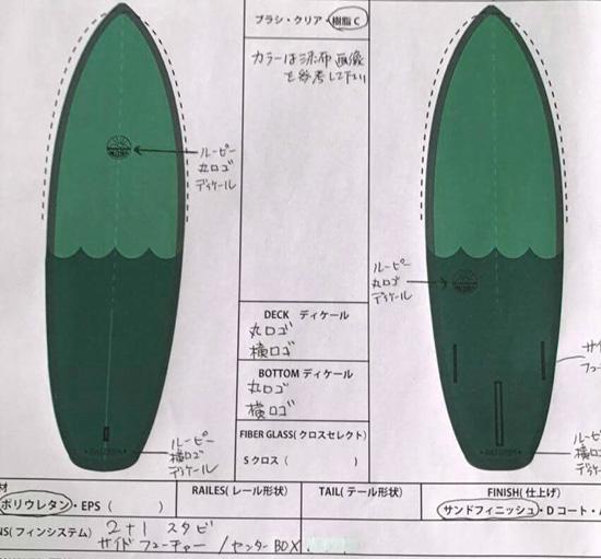 rulezpeeps (ルールズピープス) サーフボード
