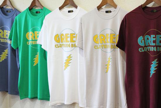 GREENCLOTHING (グリーンクロージング) 2017SUMMER GCB Tシャツ