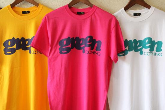 GREENCLOTHING (グリーンクロージング) 2017SUMMER LOGO Tシャツ