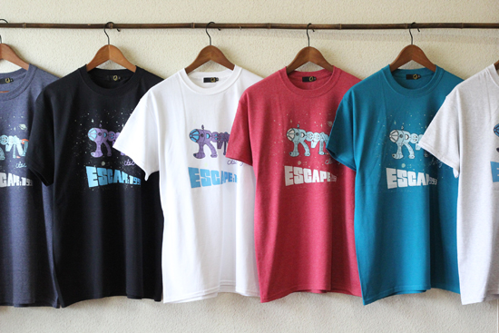 GREENCLOTHING (グリーンクロージング) 2017SUMMER ESCAPE Tシャツ