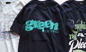 GREENCLOTHING 2017SUMMER Tシャツ
