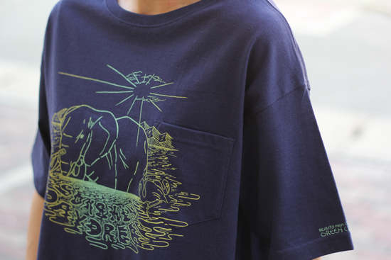 GREENCLOTHING (グリーンクロージング) 2017SUMMER LADY'S DAY DREAM TEE