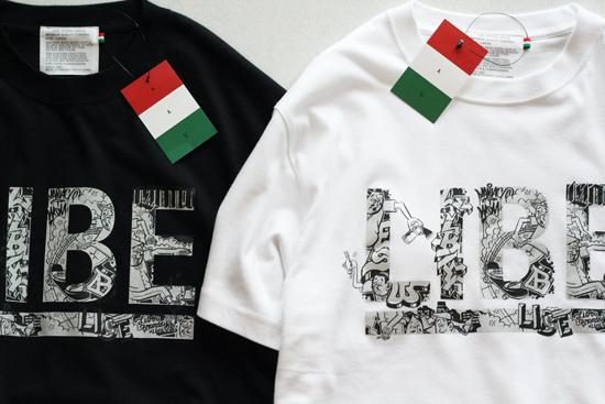 LIBE × ESOW BIG LOGO TEE新色発売
