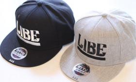LIBE × QP BIG LOGO CAP