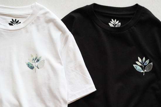 MAGENTA SKAT4BOARDS (マジェンタ) PLANT TEE HOKUSAI