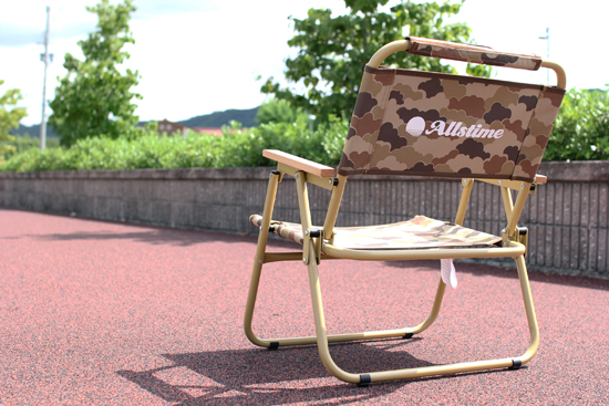 ALLSTIME (オールスタイム) SIRI TIME FOLDING CHAIR