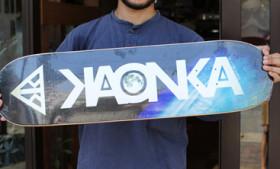 KAONKA SKATEBOARDSツアー (本日18時までの営業とさせていただきます)
