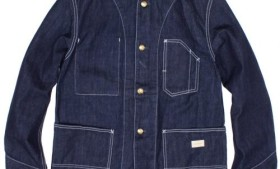 GOWEST NO COLLAR WORK JACKET