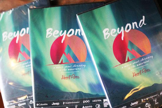 HEART FILMS「Beyond」(SNOWBOARD DVD)