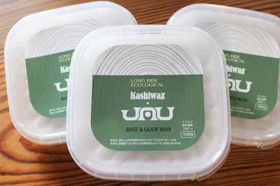 KASHIWAX (カシワックス) × JAU (ジャウー) 別注ワックス
